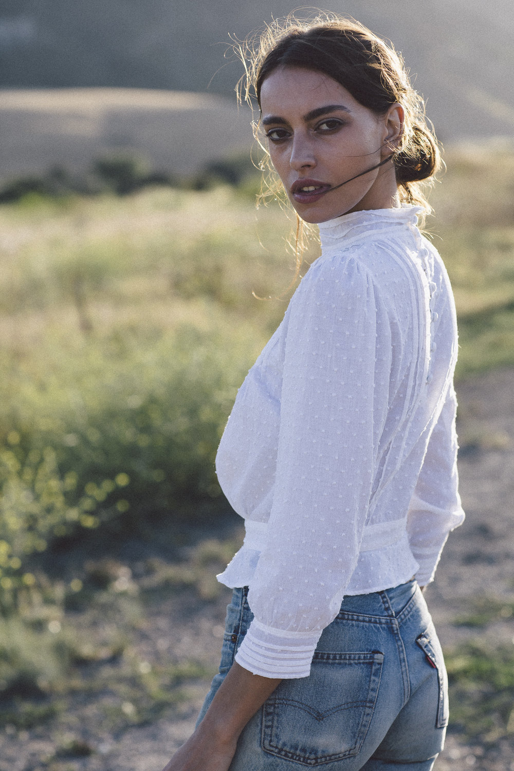 Kara Thoms shoot with Mary Gulin at the San Julien Ranch.