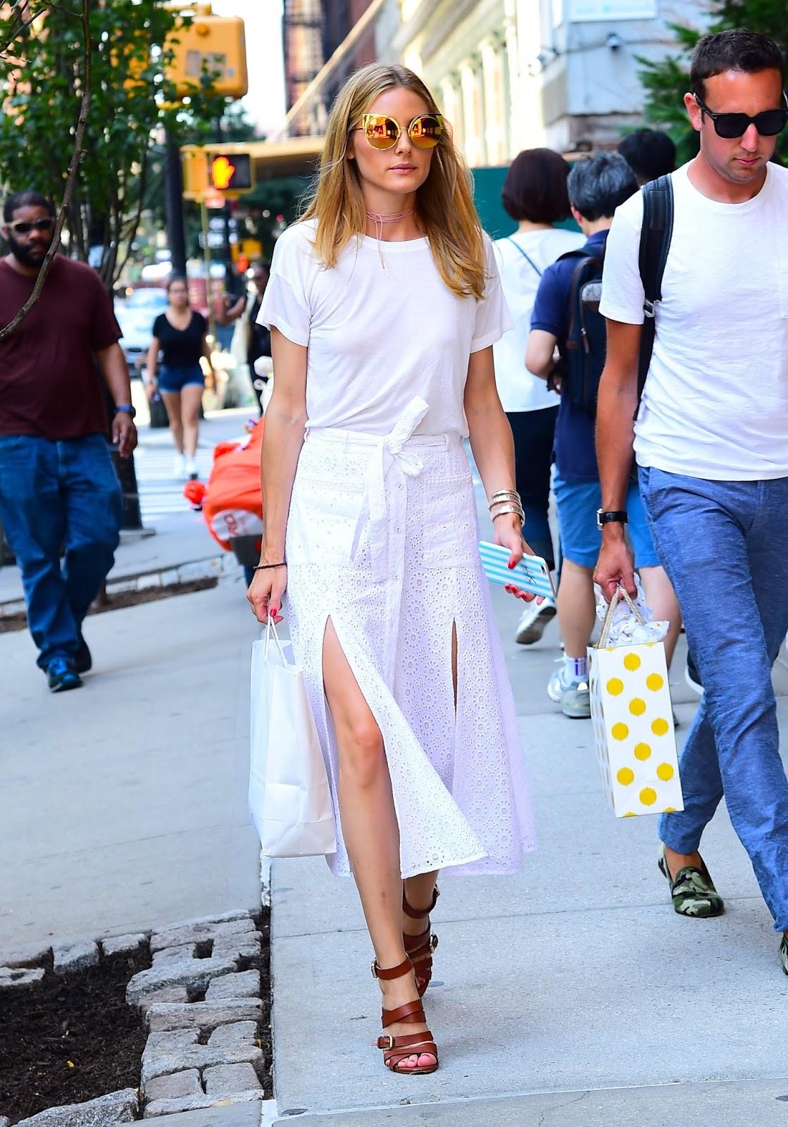 Olivia-Palermo-White-Slit-Skirt-July-2016-2