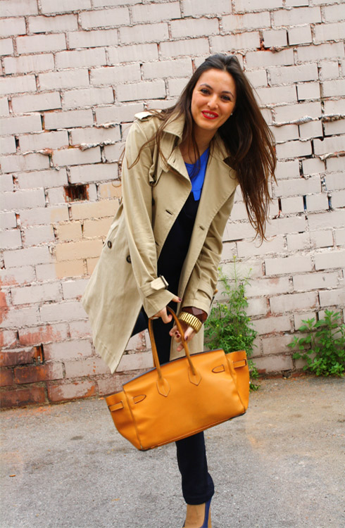 Trench + Bag