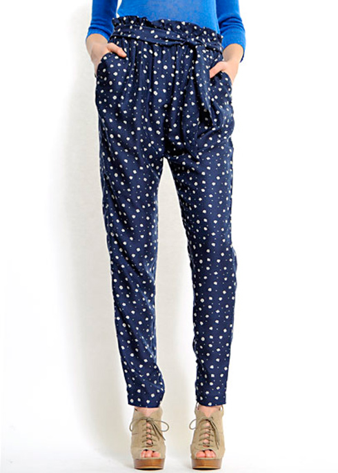 Mango dot pants