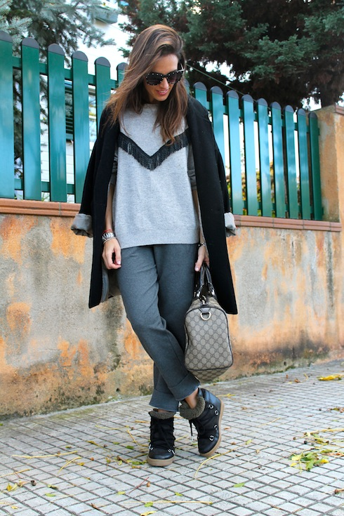 The comfiest winter look lostinvogue.com 11