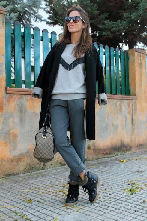 The comfiest winter look lostinvogue.com 4