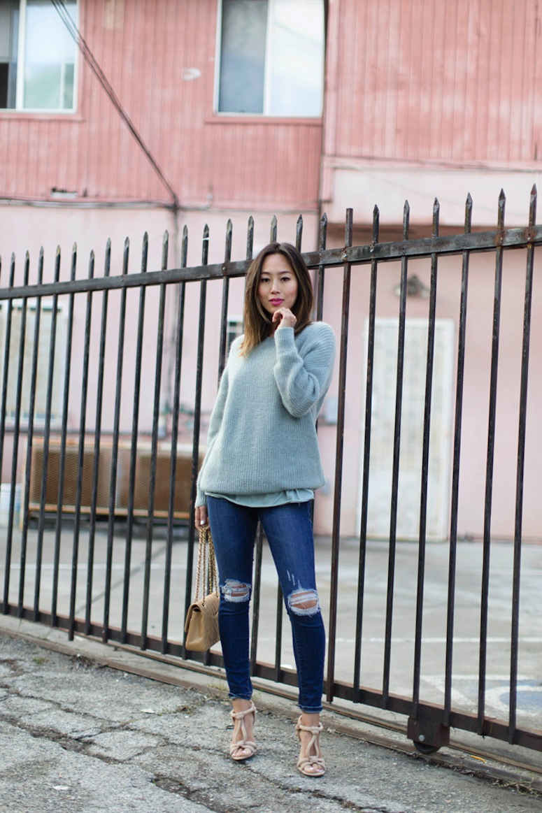 aimee_song_of_style_mint_sweater_cos_tee