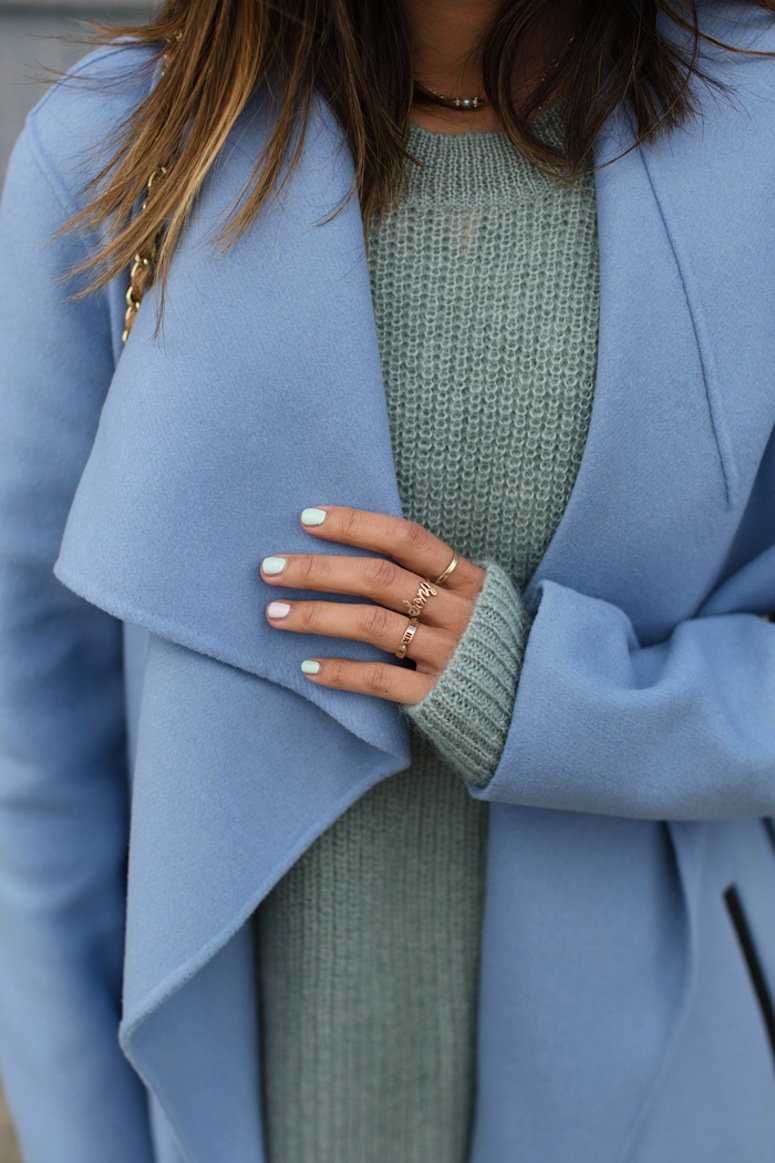 aimee_song_of_style_mint_sweater_mackage_wool_coat