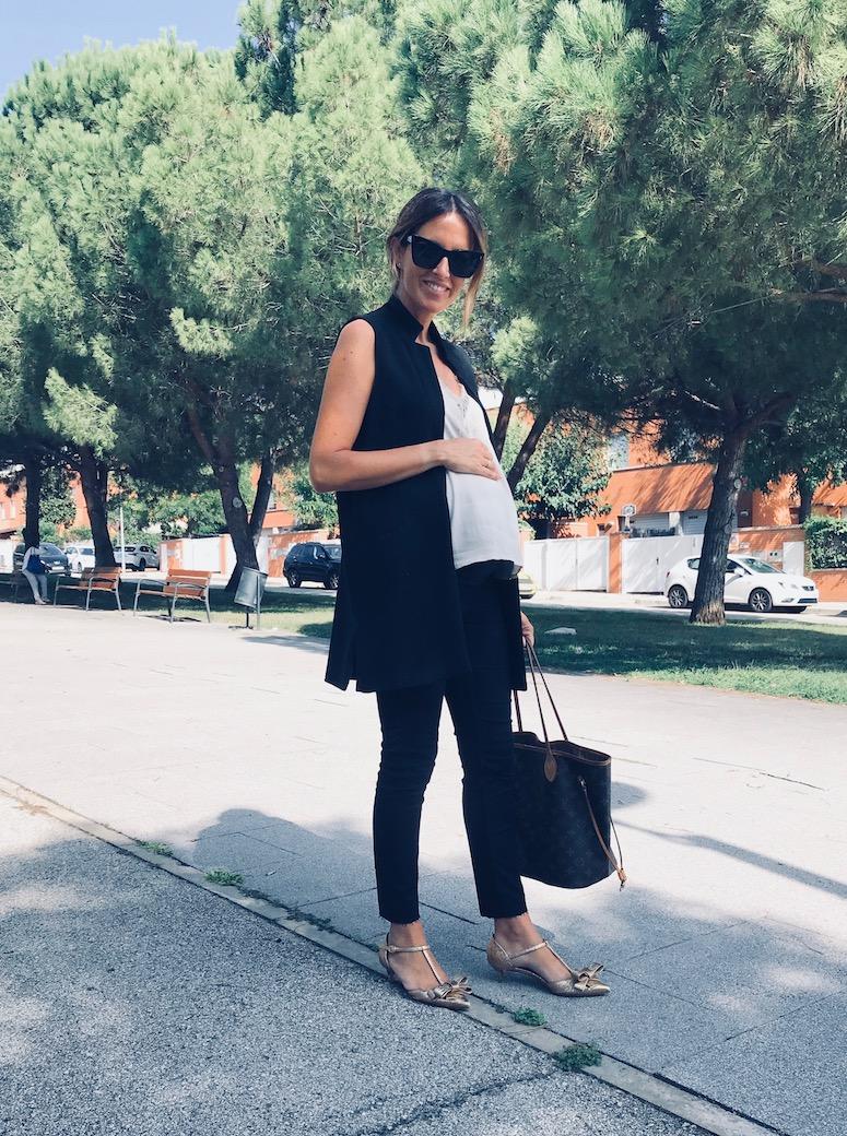 look embarazada para ir a trabajar www.eliandeli.com 1