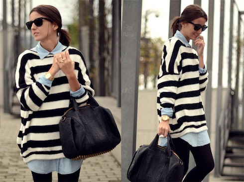 street-style-denim-and-stripes